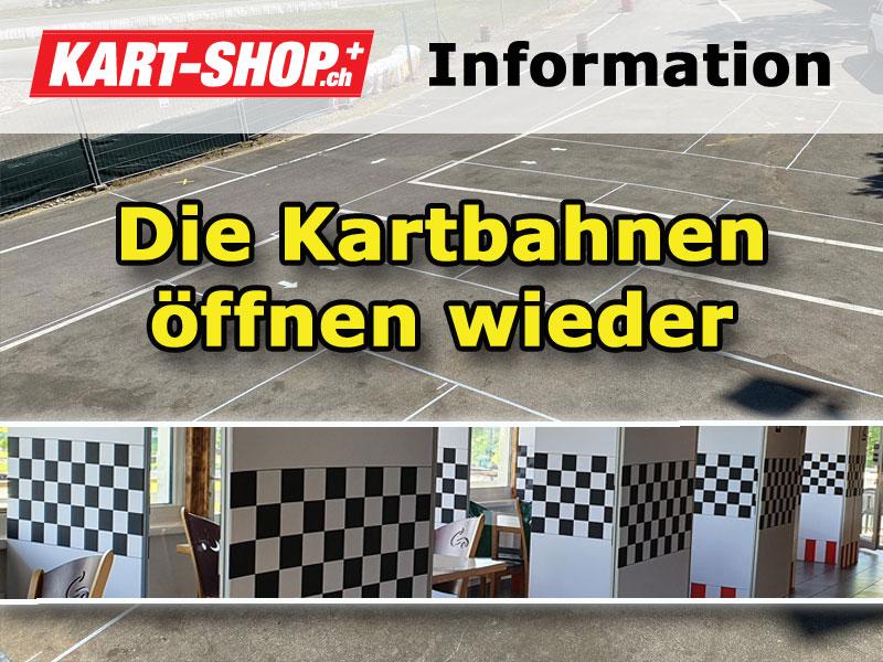 Schweizer Kartbahnen öffnen wieder